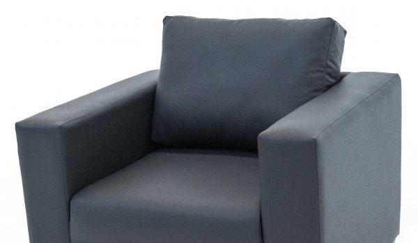1-Seater-Sofa-Grey-PVC